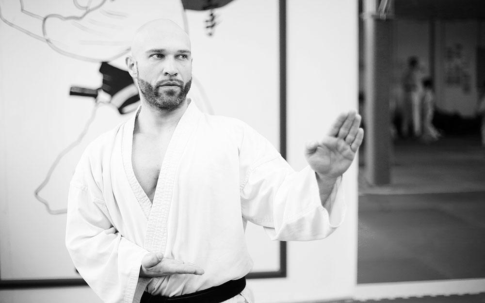Erhard Gaidos Trainer Kampfsportschule Nürtingen