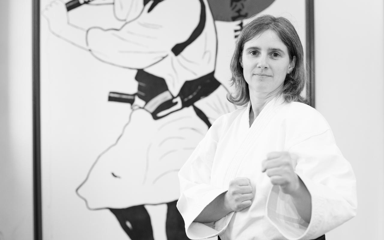 Silvia Stoll Trainerin Kampfsportschule Nürtingen